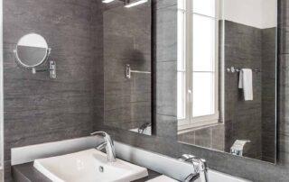 Hotel Le Saint Paul Chambre Deluxe douche avec double vasque