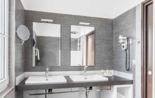 Hotel Le Saint Paul Chambre Deluxe salle douche