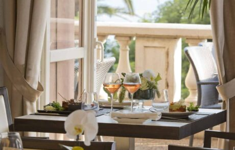 Hotel Le Saint Paul, Restaurant