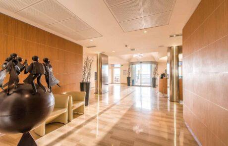 Hotel Le Saint Paul, reception