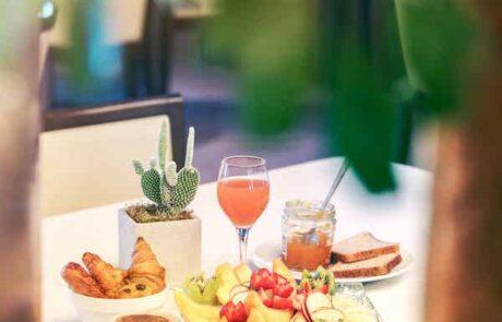 Hotel le saint Paul petit déjeuner 1